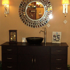 Contemporary Bathroom Lighting And Vanity Lighting by Frank Webb's Bath and Lighting Center