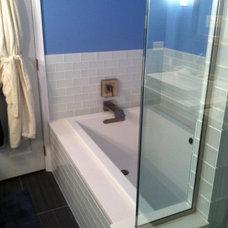 Heated soaking tub by Kohler.