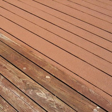 Transitional Deck by Deck and Patio Tuneup