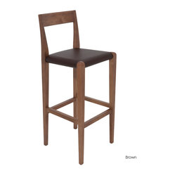 Ameri Counter Stool, Brown, Set of 2