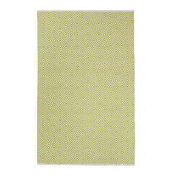 Fab Habitat - Veria Rug - Green (2' x 3'), Green, 6' X 9' - Grecian elegance is the inspiration for the modern geometric pattern of this eco-chic rug. Hand woven from 100 perfect recycle cotton, this stunning rug will cover your floor with so much sophistication and softness. Available in a variety of colors and sizes.
