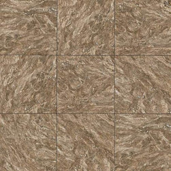 """Salcedo in Pueblo Clay - Classic detailing meets sophistication in the Salcedoâ""""¢ collection. Superior imaging mimics the look of natural stone providing the unique opportunity to achieve the look of natural stone with the ease of maintenance provided by ceramic tile."""
