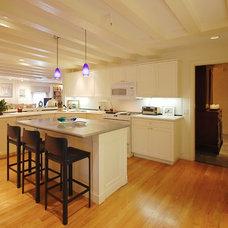 Eclectic Kitchen by Leslie Saul & Associates
