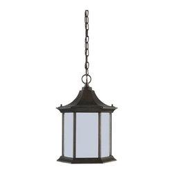 Sea Gull Lighting - Sea Gull Lighting 69136BLE Ardsley Court 1 Light Energy Star Outdoor Pendant - Specifications: