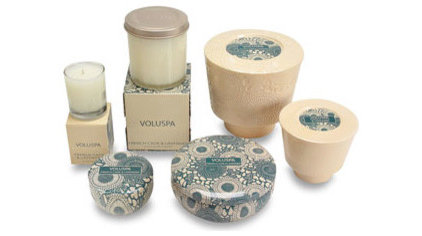 mediterranean candles and candle holders by Candle Delirium