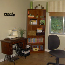 Eclectic Home Office by Sharon Charboneau, RESA Pro, Interior Stylist