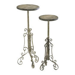 Cyan Design - Cyan Design Large Rancho Plant Stand X-88040 - Lg. Rancho Plant Stand