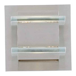 Triarch International - Triarch International 25951 One Light Wall Sconce Deco Collection - 1 light wall sconceRequires 1-75w Halogen Bulb (Included)
