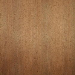Quartered Wenge Veneer - Wenge veneer is naturally dark brown in color. It is an open grain wood that accepts finishes well. The deep dark color of the wood adds dramatic effect by itself or a bold contrast with other woods. Available in a variety of backers and sizes.