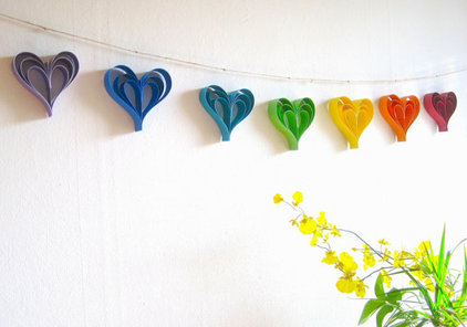 Modern Wreaths And Garlands by Etsy