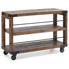 Rustic Bookcases by Zuo Modern Contemporary