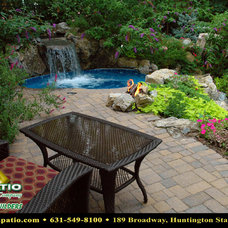 """Contemporary Patio by Deck and Patio Company """"Outdoor Living Experts"""""""