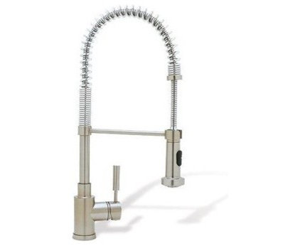 Contemporary Kitchen Faucets by Rebekah Zaveloff   KitchenLab