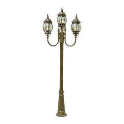 Trans Globe Lighting - Trans Globe Lighting 4094 BC Outdoor Multi Light Post Light In Black Copper - Part Number: 4094 BC