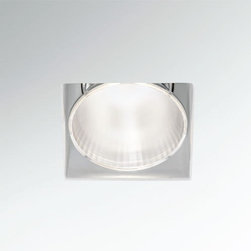 Fabbian - Tools Trimless Square 3 Inch Recessed Light | Fabbian - Design by FE Design.