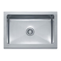 Franke - Farmhouse Sink - Franke MHX710-30 Manorhouse Stainless Steel 30In Single Bowl Apron Front Sink