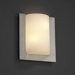 Justice Design Group LLC - Justice Design Group FSN-5562 - Framed Rectangle 3-Sided Wall Sconce (ADA) - Bru - Shop for Wall Mounted Lighting and Sconces from Hayneedle.com! About Justice DesignEndless inimitable lighting that's what Justice Design deals in. More than 200 different shapes. More than 35 different finishes. That's a huge amount of customization -- right at your fingertips. Speaking of fingertips each fixture is painstakingly crafted by skilled artisans by hand. Whether you're looking for indoor or outdoor lighting residential or commercial Justice Design is sure to have just the right fixture to match your needs and personality.