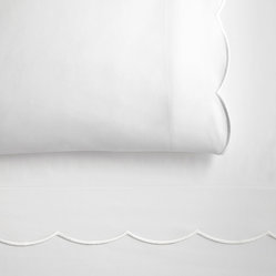 Overture Fitted Sheet, White, Twin
