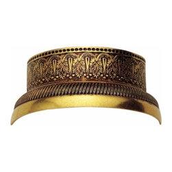 Richelieu Hardware - Richelieu Traditional Brass Half Ring 51mm Empire Brass - Richelieu Traditional Brass Half Ring 51mm Empire Brass