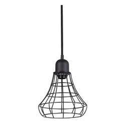 Threshold Industrial Pendant - For a budget-friendly option, look no further than Threshold's version of the caged pendant. At under $100, you can get several.