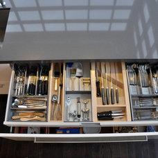Modern Kitchen Drawer Organizers by Yorkville Design Centre