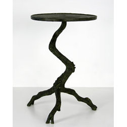 Branch Side Table - I love the realistic and intricate details of this branch table.