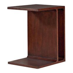 Hammary - Hammary Tacoma Flipping End Table in Rustic Brown - Flipping End Table in Rustic Brown belongs to Tacoma Collection by Hammary End Table (1)