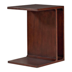 Hammary - Hammary Tacoma Flipping End Table in Rustic Brown - Flipping End Table in Rustic Brown belongs to Tacoma Collection by Hammary End Table (1)
