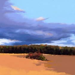 """EARLY FALL.. Giclée on Canvas - Giclée on canvas, 18x24"""", stretched ready to frame."""