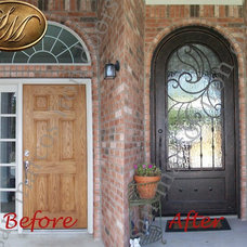 Traditional Front Doors by San Marcos Group