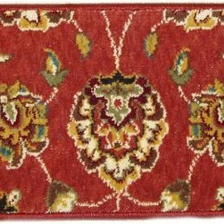Momeni - Persian Garden PG-10.21 2.6 x 9 Inches - Premium Single Stair Treads Salmon - Persian Garden PG-10.21 2.6 x 9 Inches Rug Depot Premium single Treads - Buy the amount of treads you require.