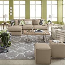 Contemporary Living Room by Furniture.com