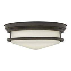 Hinkley Lighting - Hinkley Lighting 3304OZ Hadley Oil Rubbed Bronze Flush Mount - Hinkley Lighting 3304OZ Hadley Oil Rubbed Bronze Flush Mount