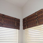 """Averté Natural Fold by Coastal - Our dealer Coastal Shutters in Smyma Beach Florida shared these wonderful photos of a recent job they did with Horizons Averté Natural Fold and Horizons Natural Woven Top Treatments. """"Customer loves it!"""" http://horizonshades.com/site/averte-natural-fold.html"""