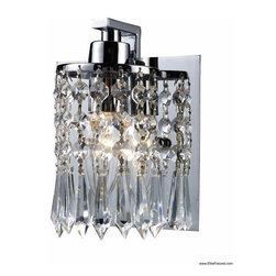 Elk Lighting 11228/1 1 Light Bath Vanity Optix Collection -