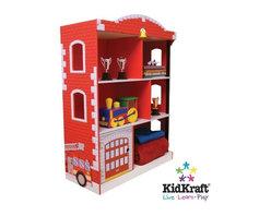 Bestsellers - Kidkraft Firehouse Bookcase 76026