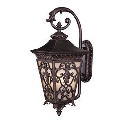 Savoy - Savoy Bientina 3 Light Outdoor Wall Lantern in Slate 5-7131-25 - Bulbs are included.