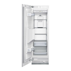 """Thermador Freedom 24"""" Built-in Fully Flush Freezer Column Stainless 