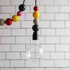 Eclectic Pendant Lighting by Dottir & Sonur
