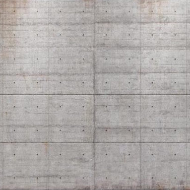 Concrete Blocks Wall Mural - Inspired by the industrial beauty of a loft style space this graphic wall mural reinvents your walls as exposed concrete slabs. The result is modern and chic bringing the perfect touch of drama to a space with a cool grey palette.
