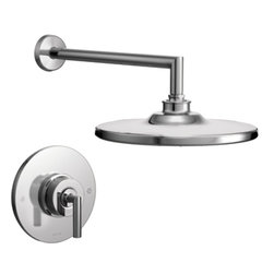 Moen - Moen TS22002EP Arris Chrome Posi-Temp Shower Only - Moen TS22002EP Arris Chrome Posi-Temp Shower Only. Arris Accessories offer sharp angles and tubular lines that dominate each piece in this modern collection, not just with style but with functional products also. This Chrome Posi-Temp Shower brings a modern look to your bath, and completes the overall look and design of your bathroom. Additional features include;  WaterSense, a water saving feature that does not compromise performance, balanced control valve to maintain temperature and pressure, and Moen Immersion for 3 times the spray through the shower head. Included is the Moen limited lifetime warranty. 2.0 GPM Flow Rate