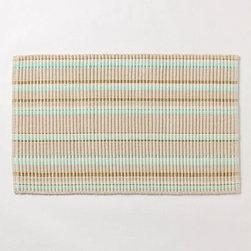 Straightaway Bathmat - Very cute bathmat, light and textured.
