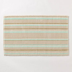 Straightaway Bathmat - Very cute bathmat, light and textured.