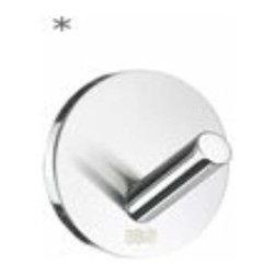 Smedbo - Smedbo Design Single Hook, Self Adhesive, Polished Chrome - Smedbo Design Single Hook, Self Adhesive, Polished Chrome