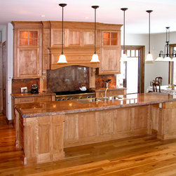 Custom Kitchen Islands & Storage - Large custom island