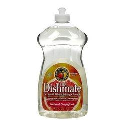 Earth Friendly Dishmate - Grapefruit - 25 Oz - Case Of 6 - A Liquid Dishwashing Cleaner