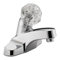 Delta Single Handle Lavatory Faucet - P130LF - Sensible styling that complements any home.