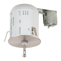Seagull - Seagull Ambiance� Transitions Recessed Light Housing in Brushed Stainless - Shown in picture: CLOSEOUT SPECIAL - 95306-98 RTx Recessed Housing Power Feed Canopy with Transformer in Brushed Stainless finish