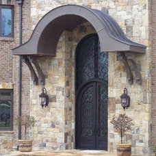 Contemporary Front Doors by rebach enterprises inc.