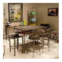 Studio Work Table by Charleston Forge - Dimensions: (width x depth x height)